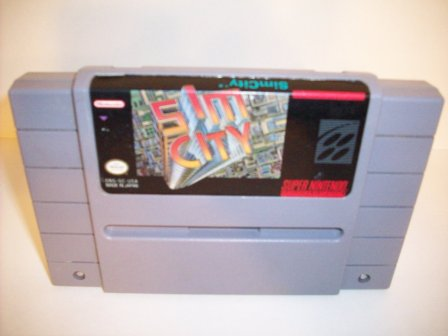 Sim City - SNES Game